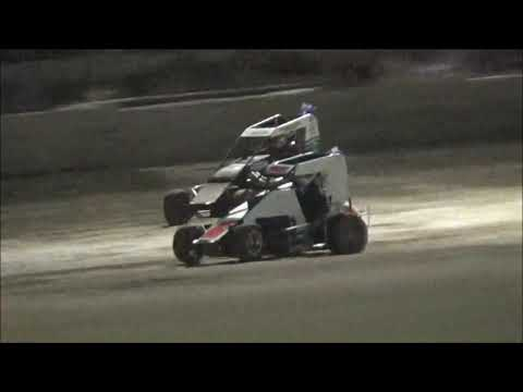 A-Main for the 2019 Queensland Speedcar Title at Castrol Edge Lismore Speedway. 19.01.19 - dirt track racing video image
