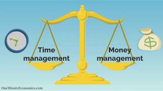 The Economics Behind Time Management and Productivity Explained in One Minute