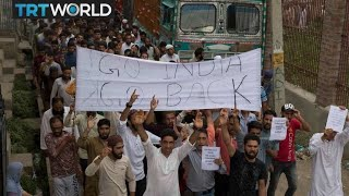 Kashmir Tensions: Protesters call for end to lockdown in region
