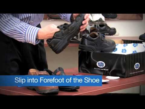 Heel Slippage and Blue Filler Inserts Info Video