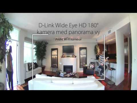 mydlink nätverkskamera med 180 graders vy (DCS-960L)