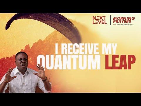 Next Level Prayers  I Receive My Quantum Leap  Pst Bolaji Idowu  16th September 2021