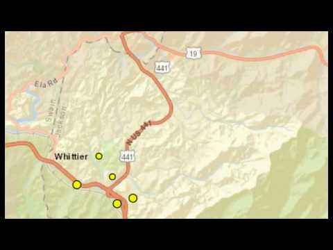 Rare Earthquake Swarm Strikes Western North Carolina