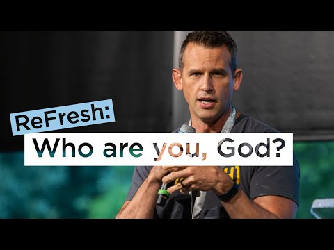 Who are you God?  Shawn Hart at ReFresh