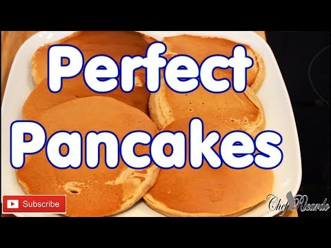 How To Make Perfect Pancakes Happy New Year'S Eve... | Recipes By Chef Ricardo
