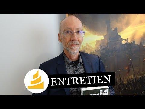 Vidéo de Steven Erikson