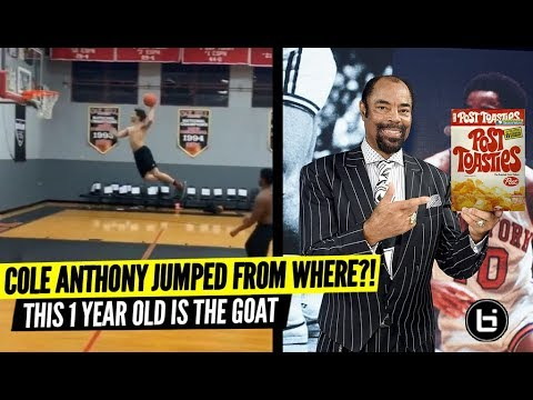 #1 Ranked 1 Year Old in the Nation OFFICIAL MIXTAPE!!! Cole Anthony Jumped From Where?? WTF?!