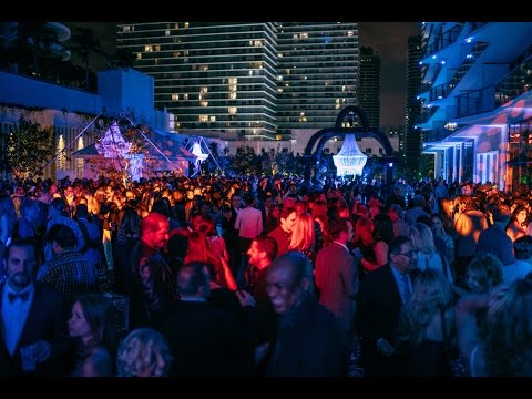 SLS Brickell's Grand Opening Party