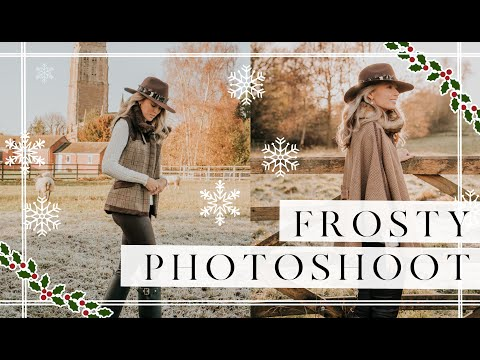 A FROSTY PHOTOSHOOT AND FESTIVE COCKTAIL MAKING // Vlogmas Day Two // Fashion Mumblr
