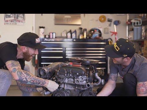 Drift Garage Season 4 Episode 3: New Motor Installation