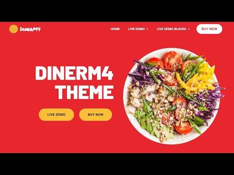 Mobirise Restaurant Web Template | DinerM4