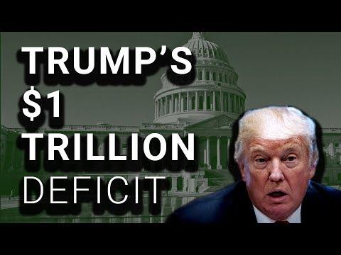 Trump Govt Will Borrow $1 Trillion, 84% Increase from 2017