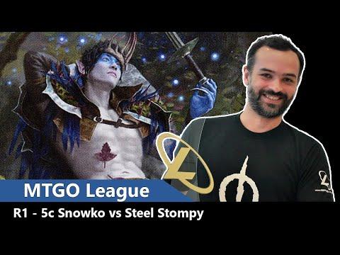 MTGO Legacy League - 5c Snowko vs Steel Stompy | Ep. 10