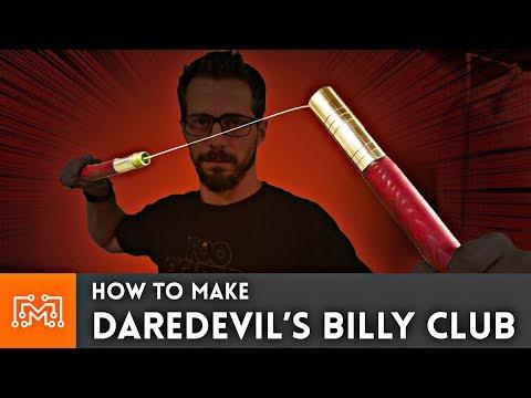 How to Make Daredevil's Billy Club - UC6x7GwJxuoABSosgVXDYtTw