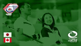 Japan v Canada - round robin - World Mixed Doubles Curling Championship 2019