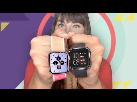 Apple Watch Series 5 vs. Fitbit Versa 2 - UCOmcA3f_RrH6b9NmcNa4tdg