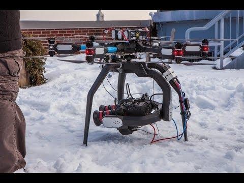 Coaxiel drone / aynı eksende çift motorlu hava aracı