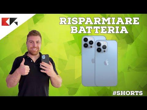 Come risparmiare batteria su iPhone e iO …