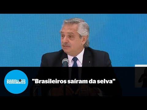 Presidente da Argentina faz ataques xenofóbicos ao Brasil