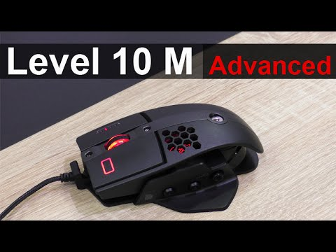 Thermaltake Tt eSPORTS Level 10 M Advanced Gaming Mouse Review - UCb0N0jgHiCwoGgkf5slDVUg