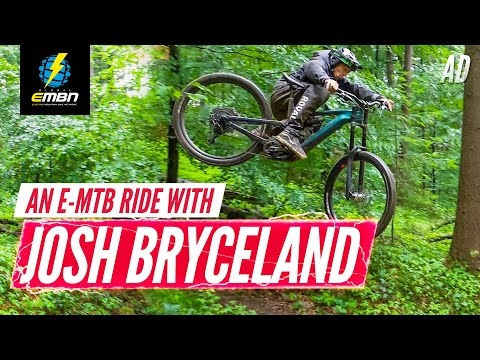 Cutting Loose: A E-MTB Ride With Josh Bryceland | All New 2020 Cannondale Moterra First Look