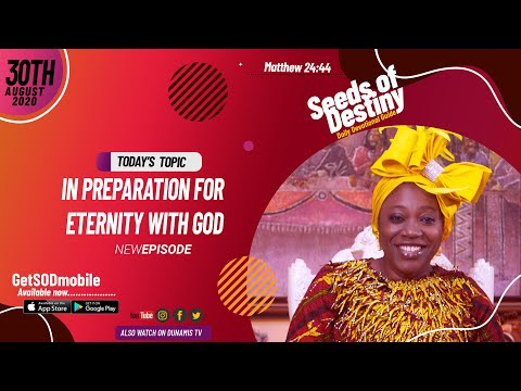Dr Becky Paul-Enenche - SEEDS OF DESTINY - SUNDAY AUGUST 30, 2020