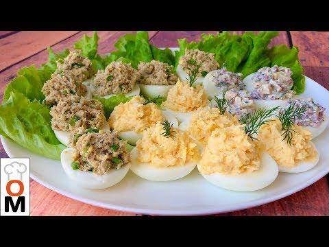 Что Делать с Оставшимися Яйцами После Пасхи | Фаршированные Яйца