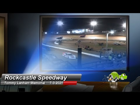 Rockcastle Speedway - Super Late Model Feature - 7/3/2021 - dirt track racing video image