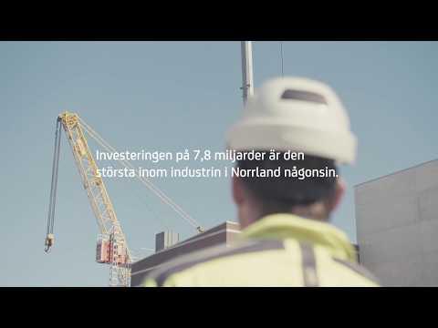 SCA bygger rekordfabrik med prefabelement från Strängbetong