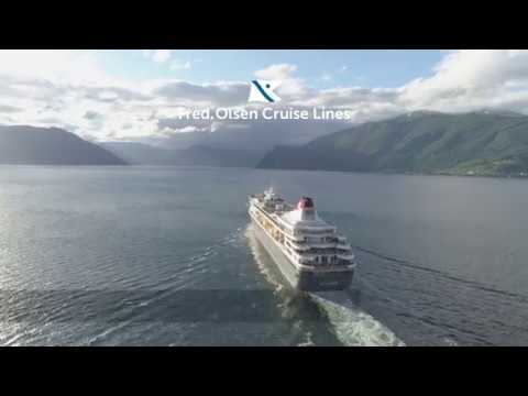 Sail the Norwegian Fjords with Fred. Olsen