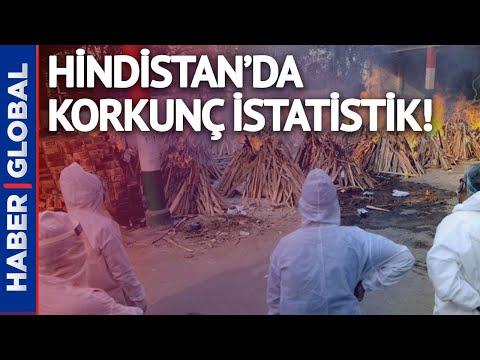 Hindistan'da Acı Rekor! Koronavirüste Korkunç İstatistik