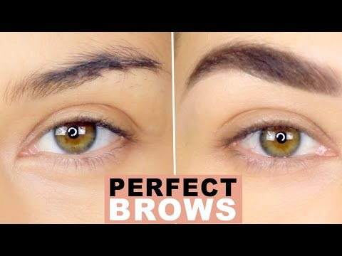 How To: Perfect Natural Brows | Eyebrow Tutorial | How to Groom Eyebrows | Eman - UCaZZh0mI6NoGTlmeI6dbP7Q