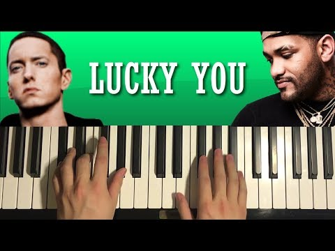 HOW TO PLAY – Eminem – Lucky You Ft  Joyner Lucas (Piano