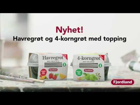 Nyhet! Havregrøt og 4-korngrøt med topping