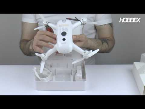 Yuneec Breeze selfie drone unboxing
