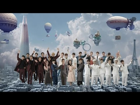 2015 Lotte Duty Free (Chinese Version) [with Lee Min Ho, Park Shin Hye, Park Hae Jin & EXO]
