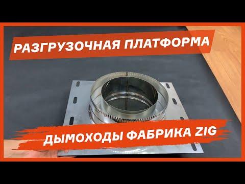 Разгрузочные платформы для дымохода из нержавеющей стали