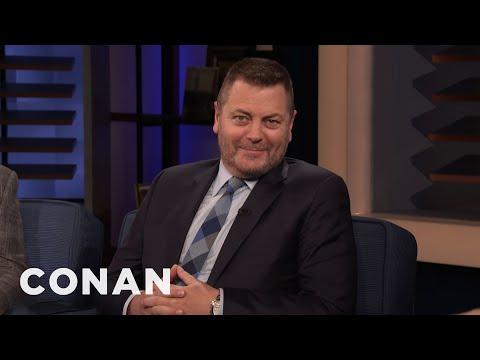 Nick Offerman Is Not Tech Savvy - CONAN on TBS