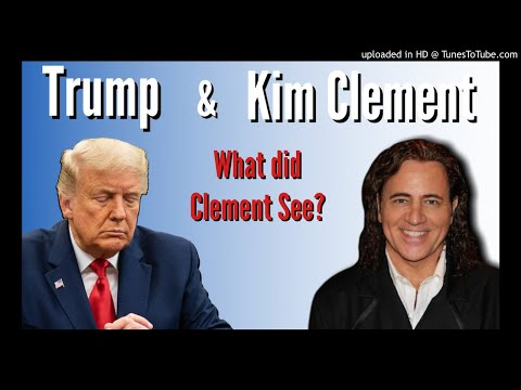 What did Kim Clement Prophesy over President Trump for 2020?