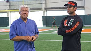 Jimmy Johnson: 'I would do anything in the world to help the University of Miami'