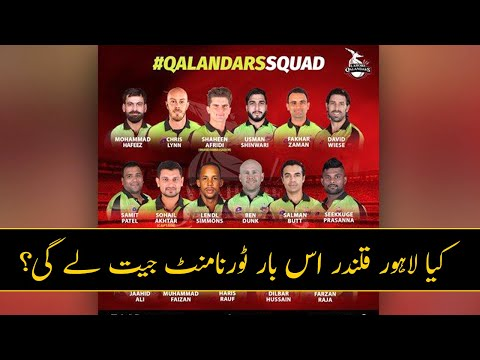 Lahore Qalandars Team Analysis: Squad Review, Records, Strengths, Weaknesses