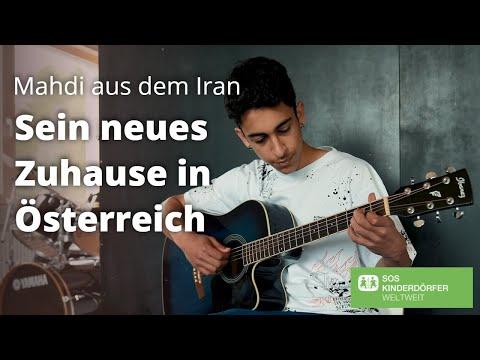 Mahdi aus dem Iran findet in Österreich ein neues Zuhause 💚