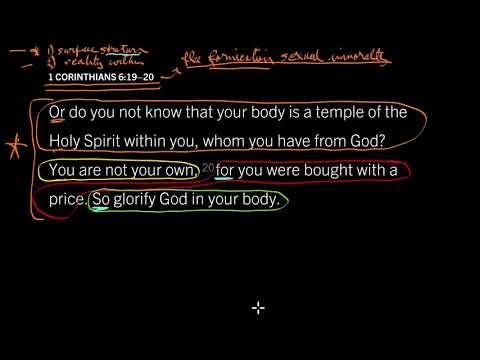 1 Corinthians 6:19–20 // Flee Sexual Immorality!