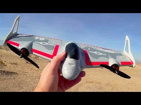 Eachine Mirage E500 VTOL Vertical Takeoff RC Airplane Follow Up Flight Reviews - UC90A4JdsSoFm1Okfu0DHTuQ
