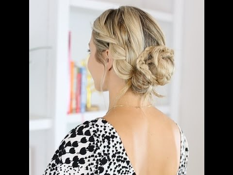 How To: Braided chignon