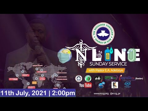 RCCG JULY 11th 2021  PASTOR E.A ADEBOYE SPECIAL SERVICE