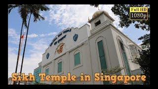 Sikh Temple in Singapore (Hindi Travel Vlog) - Part 4 MRT & Gurudwara
