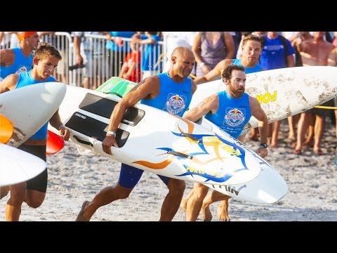 Lifeguard Competition on the Jersey Shore - Red Bull Surf & Rescue