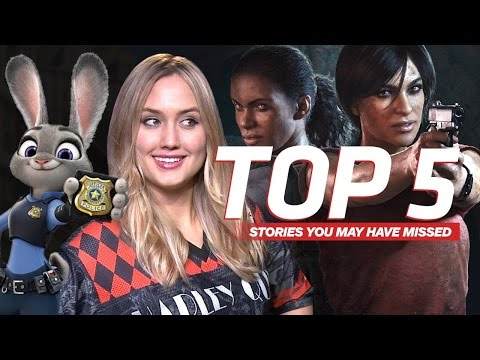 Uncharted: The Lost Legacy & Latest on Disney Lawsuit - IGN Daily FIx