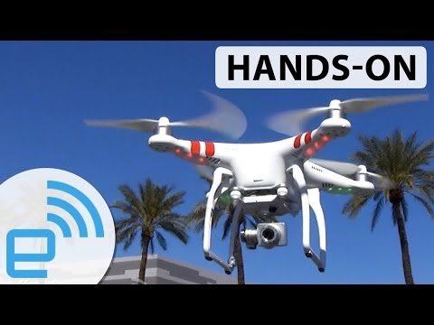 DJI Phantom 2 Vision+ drone hands-on | Engadget - UC-6OW5aJYBFM33zXQlBKPNA